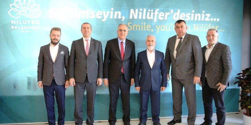 TVF Başkanından Bozbey'e ziyaret