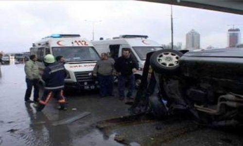 Pendik´te Trafik Kazası :1 Ölü