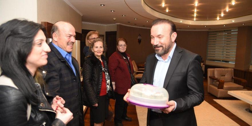 Başkan Doğan, DSP İzmit Başkanı ve yönetimini ağırladı