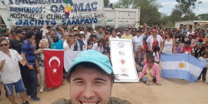 Türk aktör Arjantin'in 'İyilik Meleği' oldu