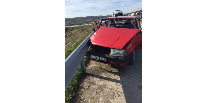 Kaynarca'da trafik kazası: 1 yaralı