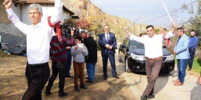 Başkan Karaçoban'a seymenli karşılama