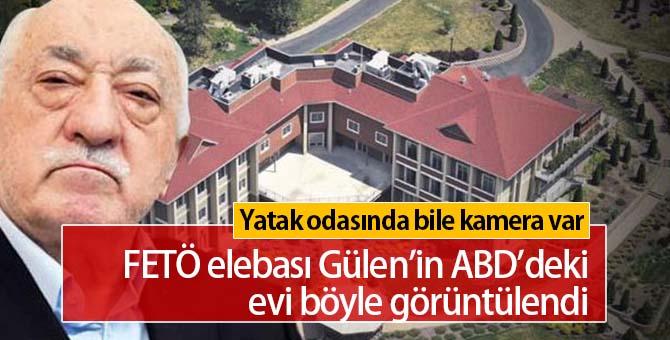 FETÖ elebaşı Gülen'in ABD'deki evi böyle görüntülendi