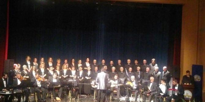 """Edirne'de """"Sevda Şarkıları"""" konseri gerçekleşti"""
