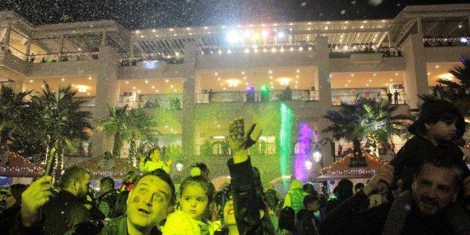 Yeni yıl coşkusu MaviBahçe'de erken başladı