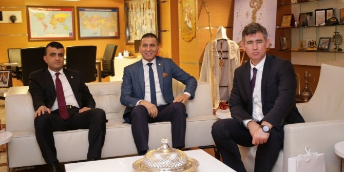 Er, TBB Başkanı Fevzioğlu'nu ziyaret etti