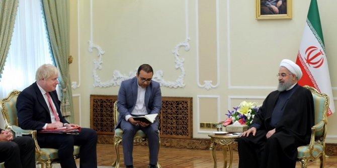 İngiltere Dışişleri Bakanı Boris Johnson, Hasan Ruhani ile görüştü