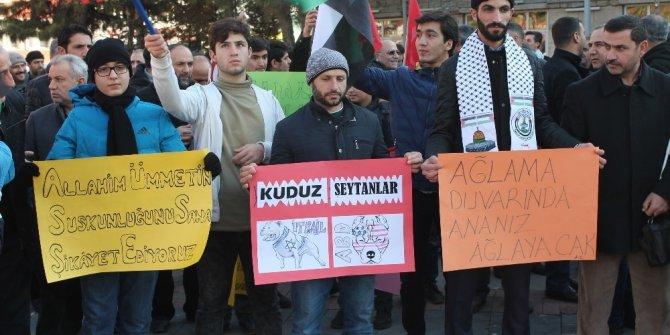 Elazığ'dan Trump'a tepkiler sürüyor