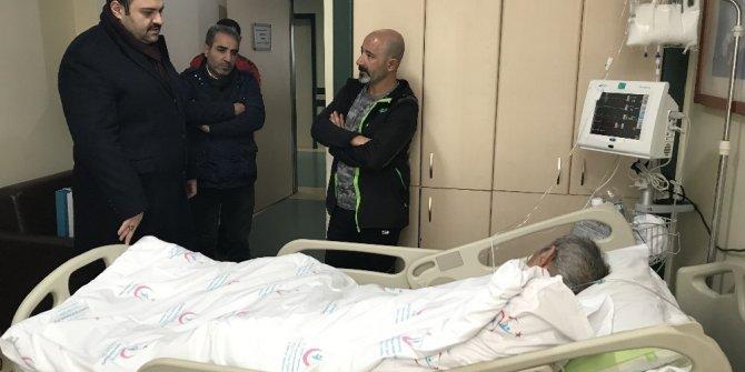Başkan Orhan'dan Uşun ailesine geçmiş olsun ziyareti