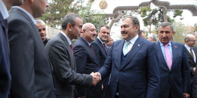 """Bakan Eroğlu: """"Antalya'ya gelen turistlerin en azından yüzde 10-15'ini Burdur'a taşımamız lazım"""""""