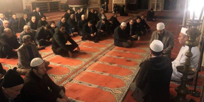 Beşiktaş şehitleri için mevlit okutuldu
