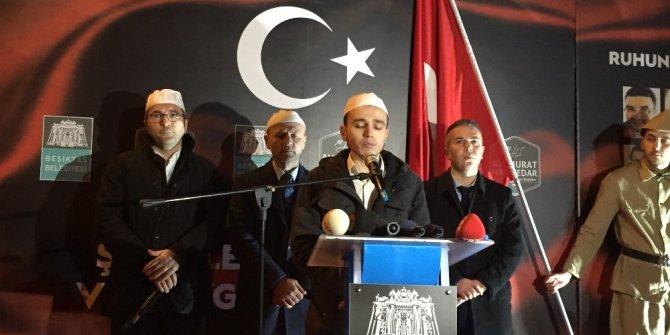 Beşiktaş patlamasının yaşandığı 22.29'da anma töreni düzenlendi