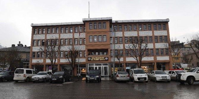 Muş Belediyesi ek hizmet binasının onarımı tamamlandı