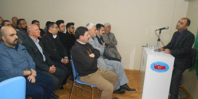"""Eskişehir'de """"Türk Dünyasının Birlik Sembolü Ebulfez Elçibey"""" konferans"""