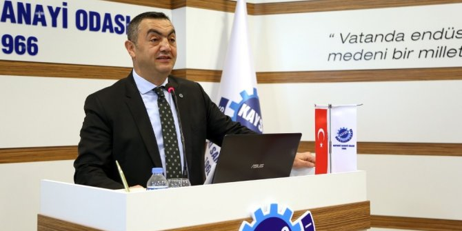 """Büyüksimitçi: """"Kayserili Sanayiciler Olarak Vizyonumuzu Türkiye'nin Üretim Üssü Olarak Belirledik"""""""
