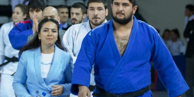 Salihli Belediyespor judocusu Türkiye ikincisi oldu