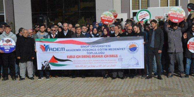 """ADEM: """"Kudüs için direniş insanlık için diriliştir"""""""