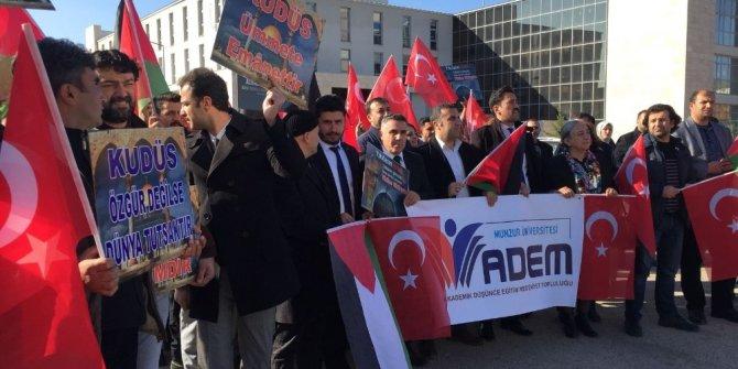 "Tunceli'den Trump'a ""Kudüs"" tepkisi"