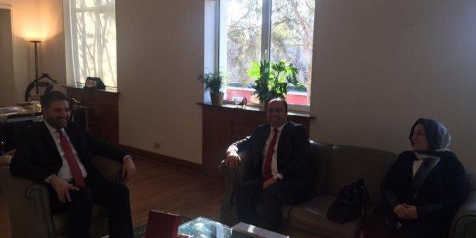 Başkan Çiftçi'den Pekin Büyükelçisi Önen'e ziyaret