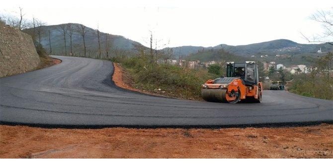 Çatalpınar-Çamaş yolu asfaltlandı