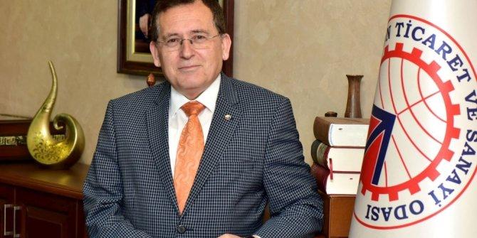 """Başkan Hacısalihoğlu: """"11,1'lik büyüme Türkiye'nin gerçek gücüdür"""""""