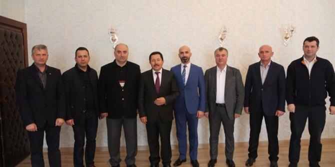 20. Meslek Komitesinden Vali Balkanlıoğlu'na ziyaret