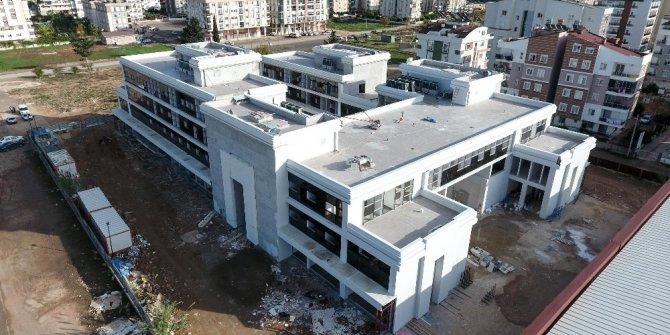 Sivil Toplum Merkezi inşaatı son aşamada