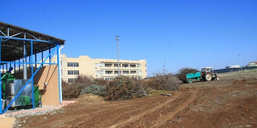 Dicle Üniversitesi tarımsal atıklardan enerji üretimine devam ediyor