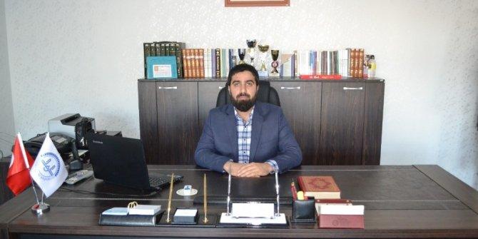 Günyüzü'ne atanan İlçe Müftüsü Ali Güler göreve başladı