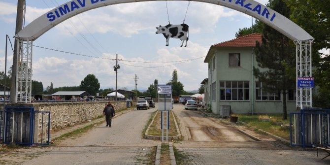 Simav'ın Hayvan Pazarı yeniden açıldı