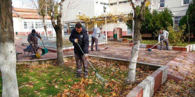 Şehitkamil'deki okullar temizleniyor