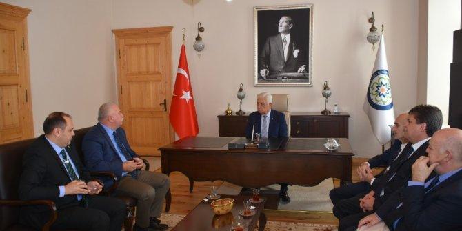 İstanbul ve Aydın Birlik Başkanlarından Gürün'e Ziyaret