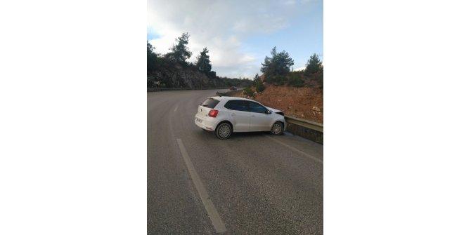 Bilecik'te maddi hasarlı trafik kazası