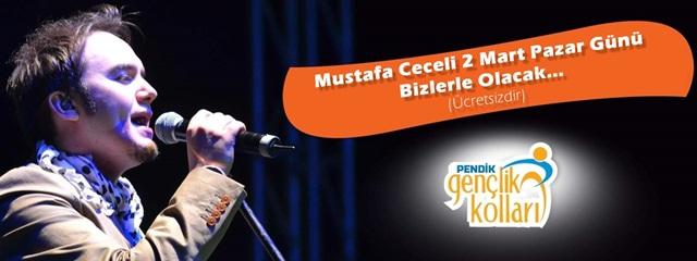 Mustafa Ceceli 2 Mart'ta, Pendik'liler ile Buluşuyor