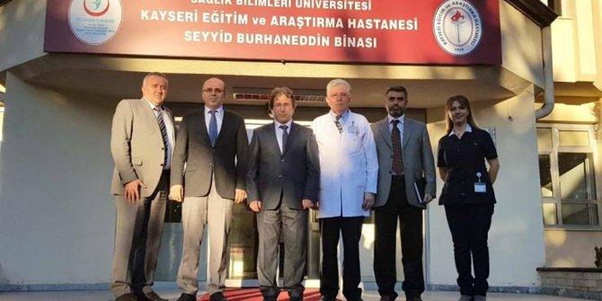 İl Sağlık Müdürü Benli'den Seyyid Burhaneddin Devlet Hastanesi'ne Ziyaret