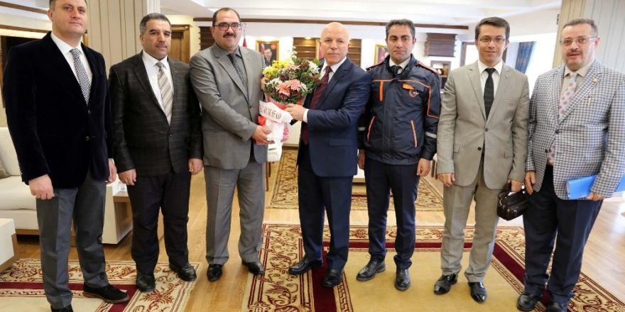 AFAD İl Müdürü Karslı Başkan Sekmen'i ziyaret etti
