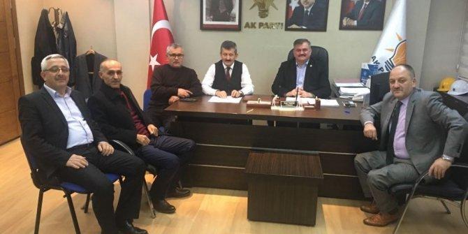 Çaturoğlu, Zonguldak'ta bir dizi ziyaretlerde bulundu