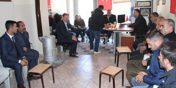 MHP İl Başkanı Özbek Şemdinli'de