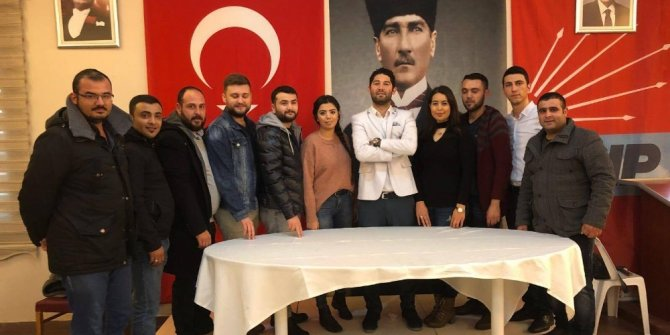 Söke CHP'de gençler Ata'nın huzuruna çıkacak