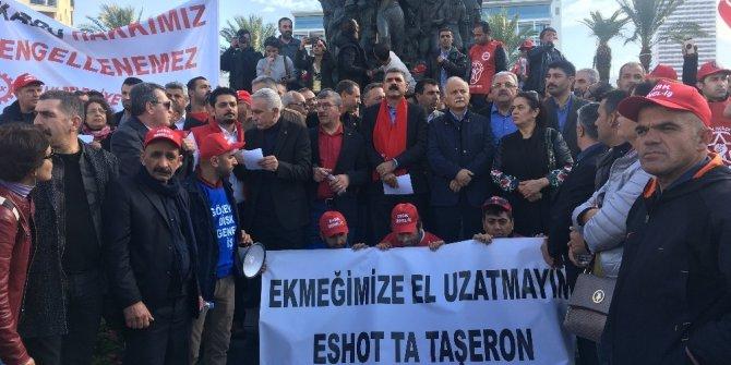 Taşeron işçilerden komisyon talebi