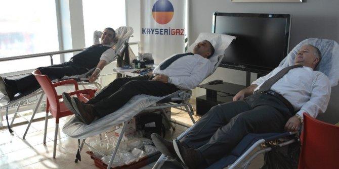 Kayserigaz Develi Ofisi'nden Kan Bağışı Kampanyası