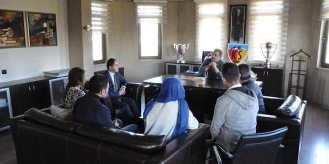 Özvatan Kaymakamlığı'ndan Kayserispor'a Teşekkür Ziyareti