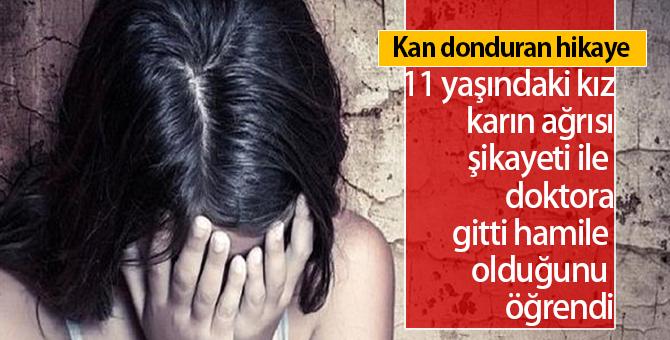 11 Yaşındaki Kız Hamile Kaldı   Genç Kızı Okulda Odaya Götürüp..