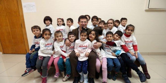 Başkan Subaşıoğlu minik öğrencileri ağırladı
