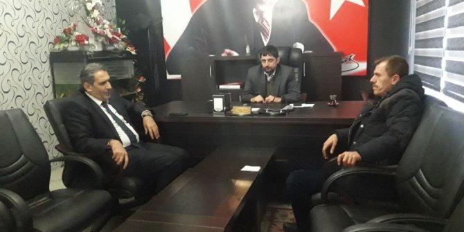 İl Genel Meclis Başkanı Erdoğan AGAD Başkanı Aslan ile bir araya geldi