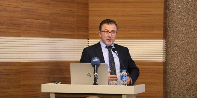 Ekonomist Mahfi Eğilmez Gaziantep OSB'de