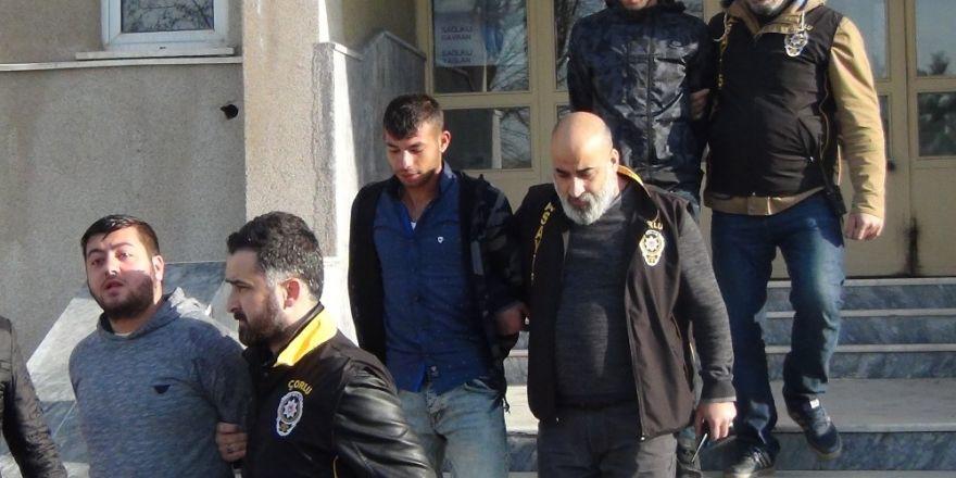 Çorlu'da cinayet zanlısı tutuklandı