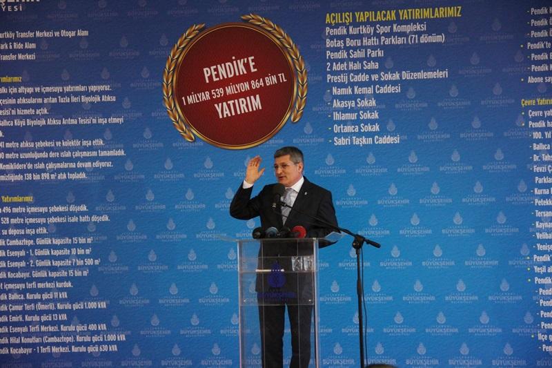 Kadir Topbaş'tan Pendik'e 15 Metro İstasyon Sözü