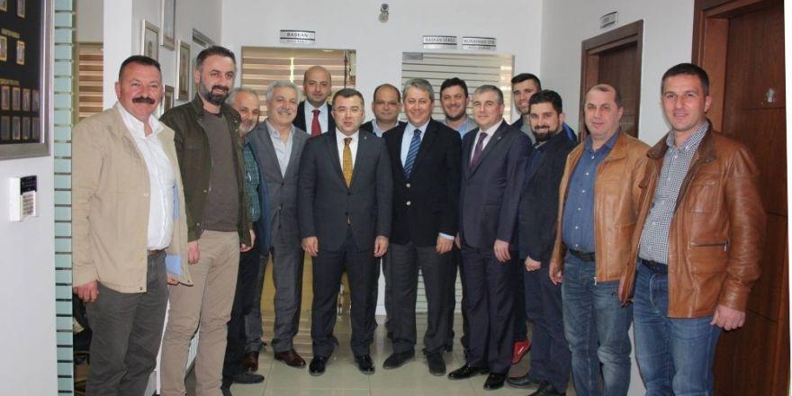 AK Parti'den DESKKKOP'a Referandum ziyareti