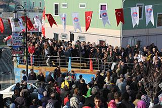 Mustafa Zengin'e Başıbüyük'te coşkulu karşılama